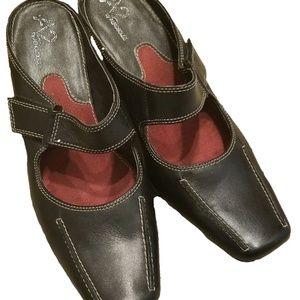 Aerosoles Black Leather Shoes
